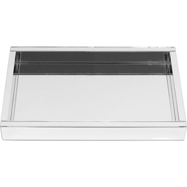 primedecor bandeja espelhada retangular 40x25