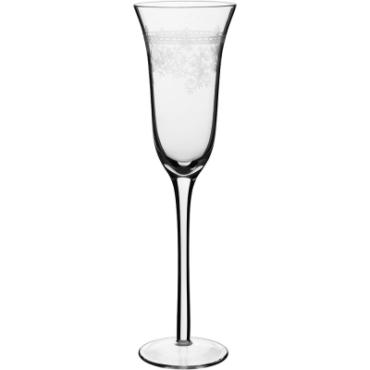 primedecor taca champanhe louis vidro transparente decorado