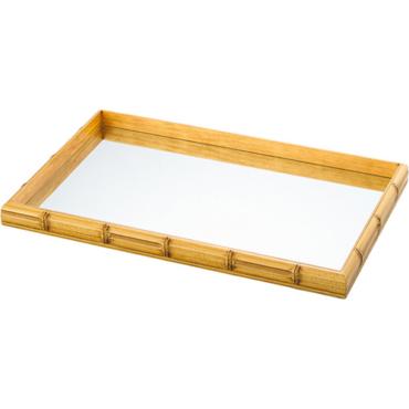 primedecor bandeja bambu 45 x 25 cm