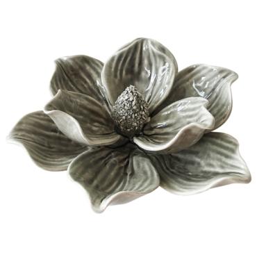 primedecor flor decorativa de mesa em ceramica marsala 108 cm 1